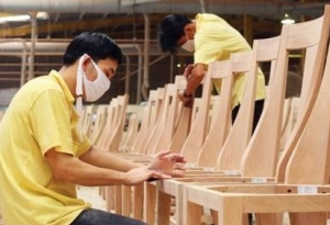 Vietnam's exports of wooden frame chairs sharply increase