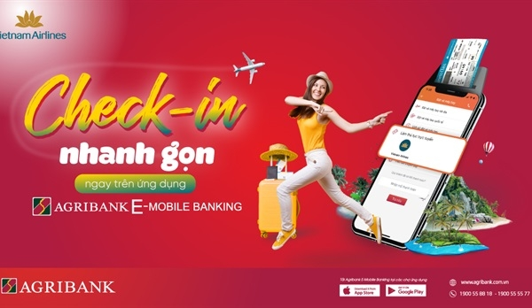 Check-in trực tuyến với Agribank E-Mobile Banking