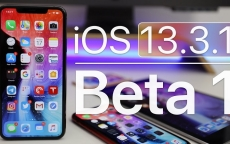 Apple tung bản beta iOS 13.3.1