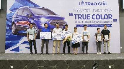 Ford VN trao giải Paint Your True Color