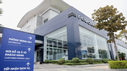 Peugeot mở rộng hệ thống showroom