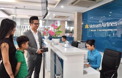 Vietnam Airlines ra mắt in-town check-in