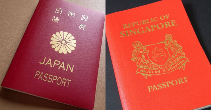 japan-singapore-passport-most-powerful