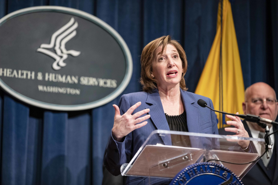 Dr. Nancy Messonnier warned Americans that top officials expect the novel coronavirus to begin spreading at a community level