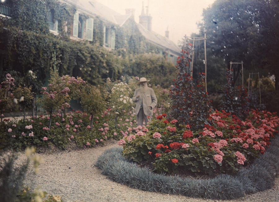 Monet ở Giverny (1926)