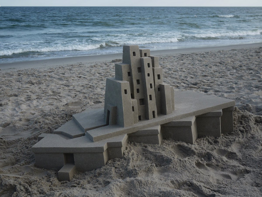 brutalist-architecture-as-sandcastles