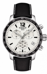 Quickster Chronograph Stainless Steel / White