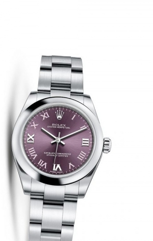 Oyster Perpetual 31 Red Grape Roman