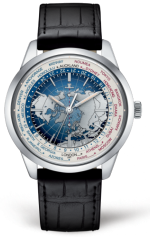 Geophysic Universal Time Stainless Steel
