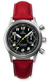Dynamic III Chronograph Stainless Steel / Black / Red Coramide