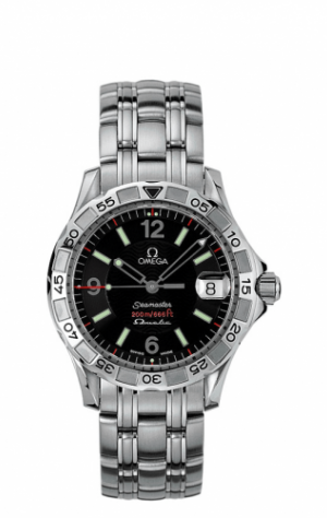 Seamaster Diver 200M OmegaMatic Stainless Steel / Black / Bracelet