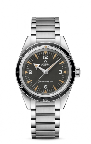 Seamaster 300 Master Co-Axial Stainless Steel / Black / Bracelet / 60th Anniversary