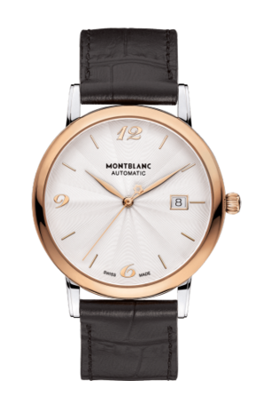 Classique Date Automatic 39mm Two Tone Guilloche