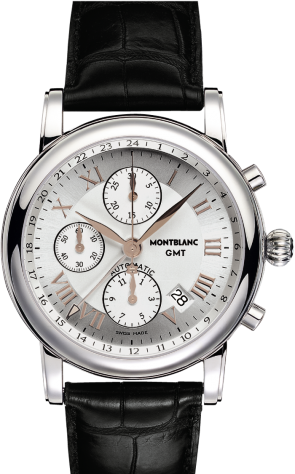 Star Roman Chronograph GMT Automatic Silver