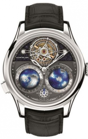 Tourbillon Cylindrique Geospheres Night Sky