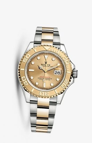 Yacht-Master 40 Rolesor Champagne