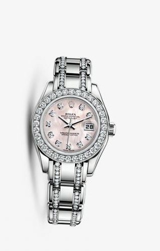 Datejust Pearlmaster 29 White Gold Diamond Mother of Pearl Diamond