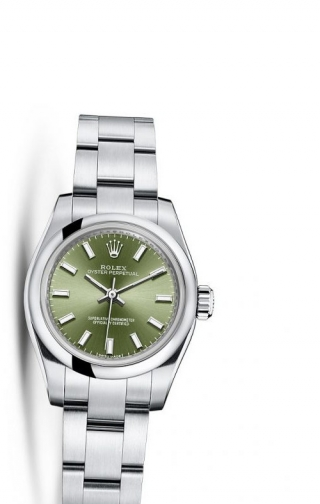 Oyster Perpetual 26 Olive Green