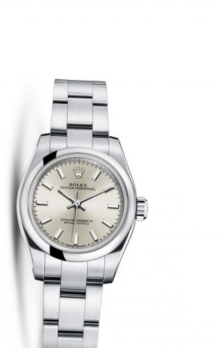 Oyster Perpetual 26 Silver