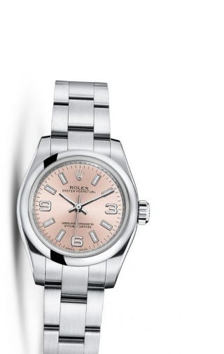 Oyster Perpetual 26 Silver Explorer