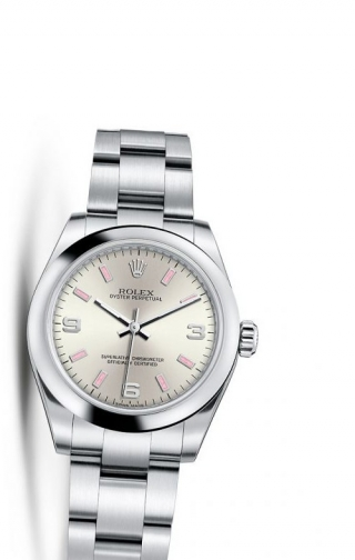 Oyster Perpetual 31 Silver Explorer
