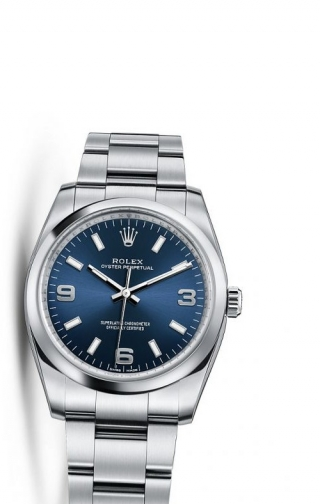 Oyster Perpetual 34 Blue Explorer