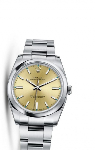 Oyster Perpetual 34 Champagne