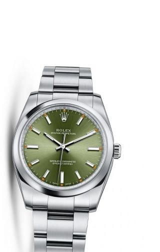 Oyster Perpetual 34 Olive Green