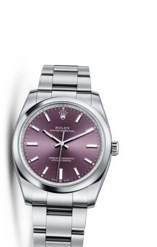 Oyster Perpetual 34 Red Grape