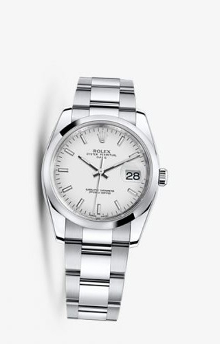 Oyster Perpetual Date 34 White