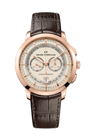 1966 Chronograph Pink Gold White