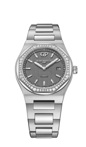 Laureato 34 Quartz Stainless Steel / Diamond / Grey