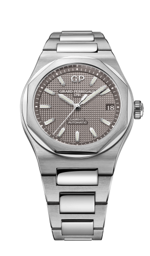 Laureato 38 Automatic Stainless Steel / Grey