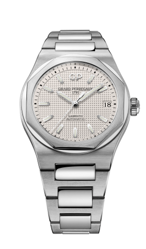 Laureato 38 Automatic Stainless Steel / Silver