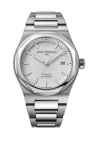 Laureato 41 Automatic Stainless Steel / Silver