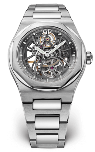 Laureato 42 Automatic Skeleton Stainless Steel / Bracelet