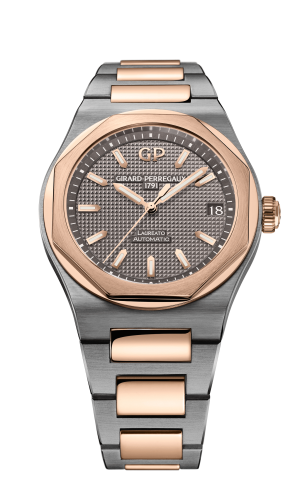 Laureato 42 Automatic Titanium / Pink Gold / Grey