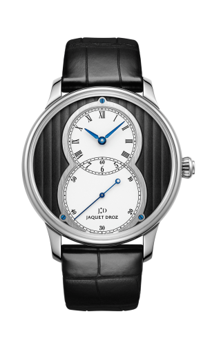 Grande Seconde 39 Cotes de Geneve / White Gold