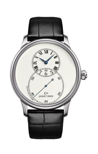 Grande Seconde 39 Ivory Enamel / White Gold