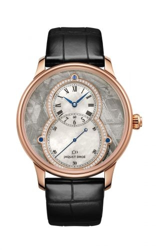 Grande Seconde 39 Meteorite Diamond / Red Gold