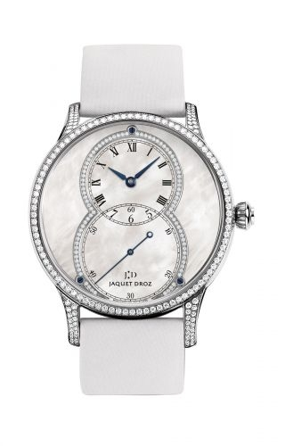 Grande Seconde 39 Mother of Pearl Diamond / White Gold