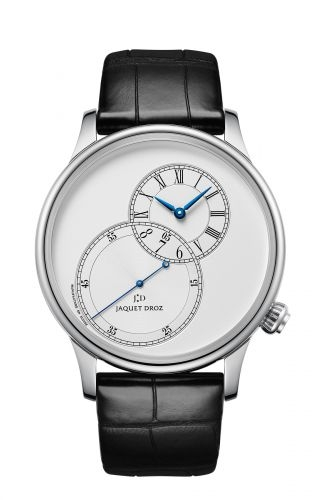 Grande Seconde 43 Decentree Silver / Stainless Steel