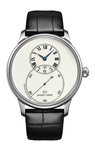 Grande Seconde 43 Ivory Enamel / White Gold