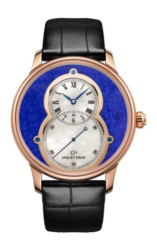 Grande Seconde 43 Lapis Lazuli / Red Gold