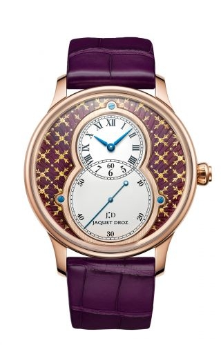 Grande Seconde 43 Paillonnée Violet / Red Gold