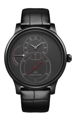 Grande Seconde Power Reserve Black Ceramic