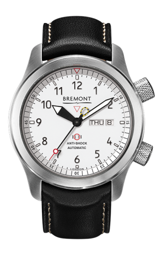 MB II Anthracite White Dial