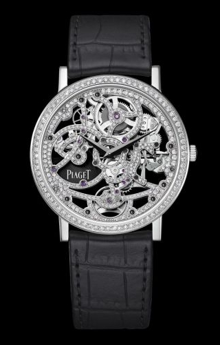 Altiplano Skeleton White Gold Diamond