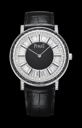 Altiplano Ultra Thin Automatic White Gold Black Diamond