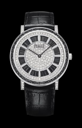Altiplano Ultra Thin Automatic White Gold Ruby Diamond